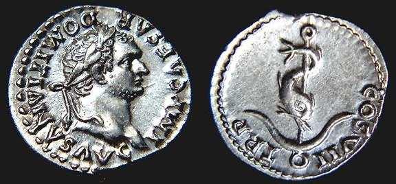 Domitianus Augustus einde 1e eenw