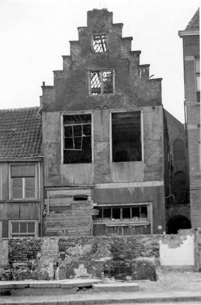 Olof schippershuis in 1948, foto RAN