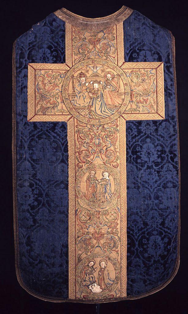 Kazuifel 1450 met Kölner Borten (Schnütgen)